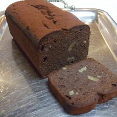 糖質制限でチョコとクルミのパウンドケーキ作り!チョコサブレも!