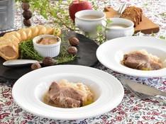 料理レッスン写真 - 簡単だから何度でも 豚肩ロースとキャベツのブレゼ、レバーペースト等