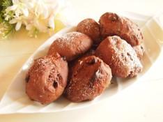 料理レッスン写真 - ココアとチョコが贅沢♡プティココショコラ&桃のふんわりムース