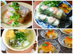 料理レッスン写真 - ベトナム料理 基礎の基礎★生春巻きと揚春巻き、ベトナムプリン