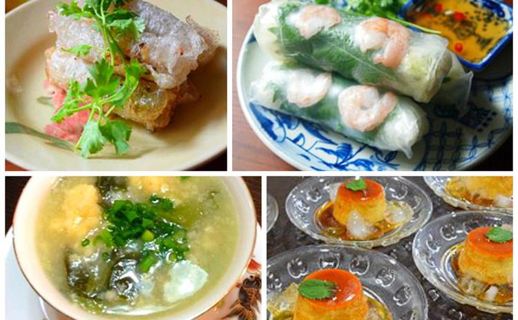 ベトナム料理 基礎の基礎★生春巻きと揚春巻き、ベトナムプリン