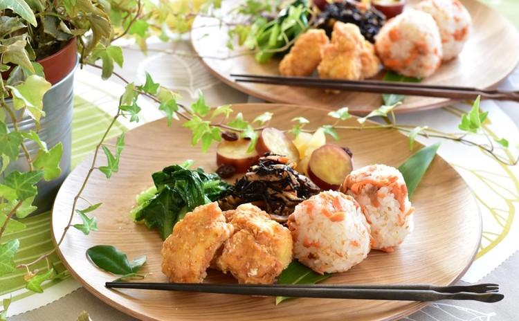 簡単だから何度でも お弁当にも使えるお惣菜 鮭フレーク、ひじき煮等
