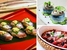 料理レッスン写真 - サンマをさばいて和食に洋食にサンマ三昧 卯の花寿司・フレッシュチーズ巻
