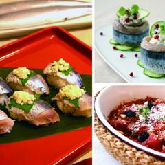 サンマをさばいて和食に洋食にサンマ三昧 卯の花寿司・フレッシュチーズ巻