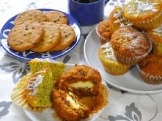 料理レッスン写真 - コーヒーに合うアメリカンスタイルの焼き菓子~マフィンとクッキー~
