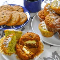 コーヒーに合うアメリカンスタイルの焼き菓子~マフィンとクッキー~