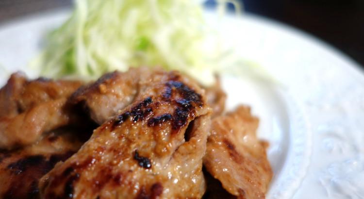 【豚肉の酒粕&生姜焼き】驚くほど柔らかくうま味が超UP!