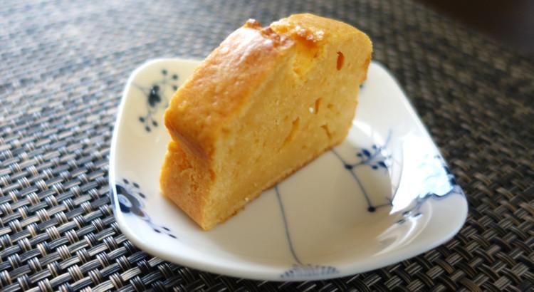 【酒粕ケーキ】酒粕の風味&しっとりしたケーキは大人の味