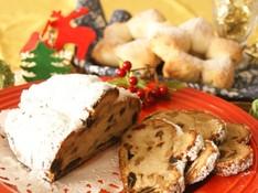 料理レッスン写真 - ☆メリークリスマス☆ホシノ天然酵母のシュトーレンといちご味の星形パン