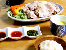 料理レッスン写真 - ホームでアジアンカフェ☆本格な海南鶏飯コース料理