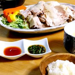 ホームでアジアンカフェ☆本格な海南鶏飯コース料理