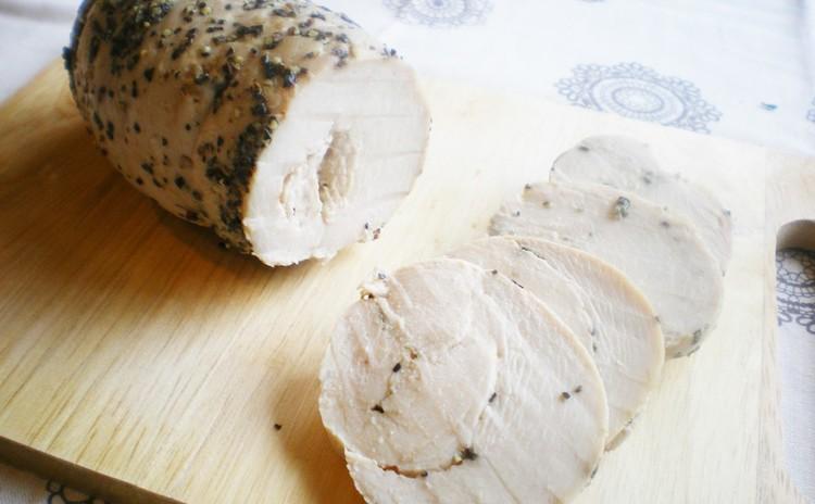 リクエスト開催*2種類の手作り鶏ハム&塩レモン✿ふわとろ卵のオムライス