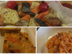 料理レッスン写真 - ボジョレー★ホームパーティー★秋鮭・スペイン風オムレツをオーブンで!