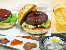 料理レッスン写真 - 【燻製実習!】『燻製ミニハンバーガー2種』と『燻製オリーブオイル』