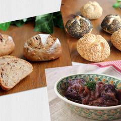 天然酵母でザックリ作るライ麦パン!くるみレーズン&ゴマ香るカイザーⅡ