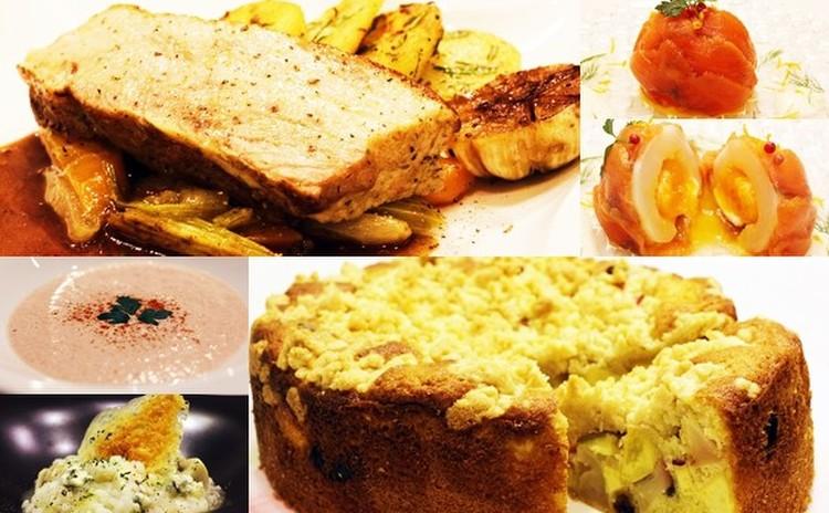 日程追加★豚肉のポットロースト・秋のクランブルケーキ他✿お土産付