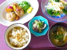 料理レッスン写真 - 【秋定食】豚肉♪きのこ♪さつまいも♪作り置きにも!お弁当にも!