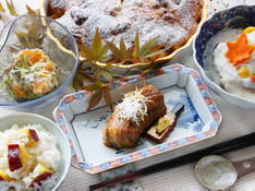 料理レッスン写真 - 伝家の宝刀「豚の角煮」、祝に華を添える蕪蒸し。お正月を見据えたハレ料理