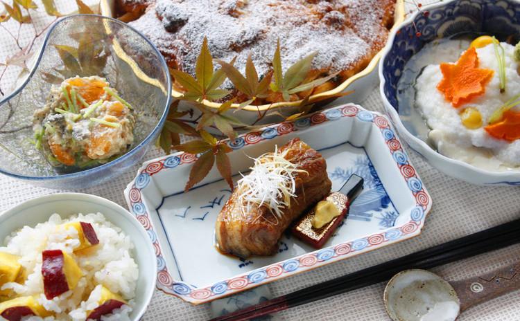 伝家の宝刀「豚の角煮」、祝に華を添える蕪蒸し。お正月を見据えたハレ料理