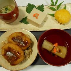 おうちでほっこり『お寺ご飯』風 精進御膳〜ベジうな丼やごま豆腐など〜♡