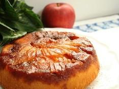 料理レッスン写真 - りんごの季節に作りたいアップルキャラメルケーキ(17cm丸1台)