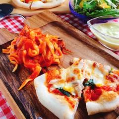 自家製天然酵母のピザと手打ちパスタでおうちイタリアン♪