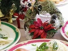 料理レッスン写真 - クリスマススポンジケーキ上手く焼くコツ&ヘルシーふすま入りパン