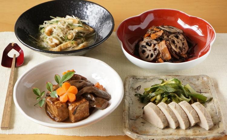 京都のおばんざいシリーズ第二弾!鰹でなまり節、あらめの五目煮、他2種