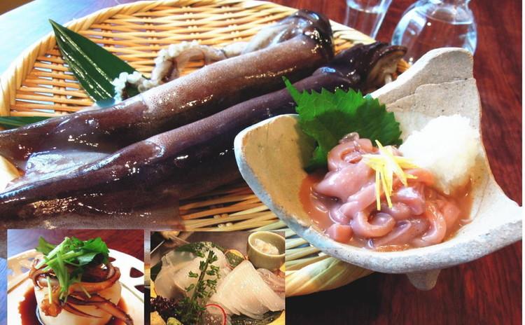 イカの捌き方実習!身は塩辛とイカのお造り、ゲソは煮物に♪