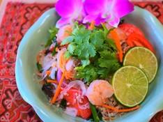 料理レッスン写真 - ごちそうヤムウンセン&「世界一美味しい料理」と言われたマッサマンカレー