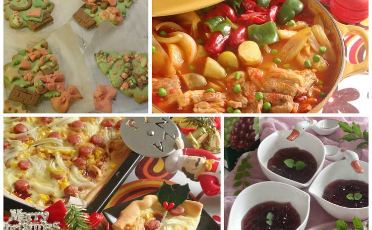 親子で楽しんで作れるパーティメニュー洋鍋・ピザ・デコクッキー・ゼリー
