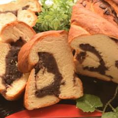 【年末年始のお茶にも♡】極みの餡食パン★1本持ち帰り&豆乳パン6個♪