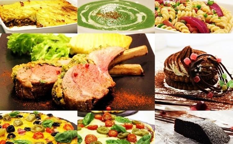 クリスマスレシピその①☆ラムラックのハーブ焼き等全8品+α✿お土産付