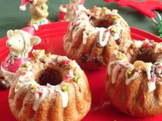 料理レッスン写真 - 手作りクリスマスを演出☆国産小麦でショコラクグロフ&シナモンロール