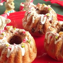 手作りクリスマスを演出☆国産小麦でショコラクグロフ&シナモンロール