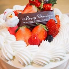 【クリスマスレッスン】いちごのショートケーキ