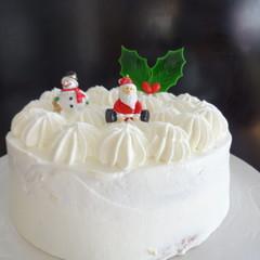 ママ・パパと一緒にクリスマスケーキ&ヘキセンハウスを作りましょう♡