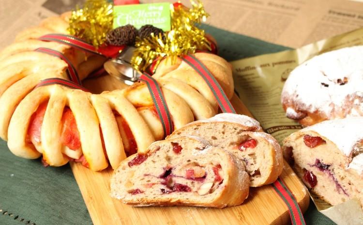 クリスマスリースパンといちごシュトレン ご試食付きレッスン
