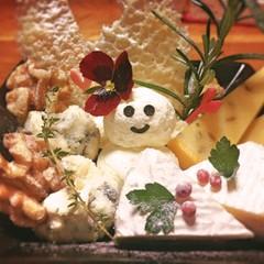 身近なチーズだけで*クリスマスのチーズプレート(盛り合わせ)