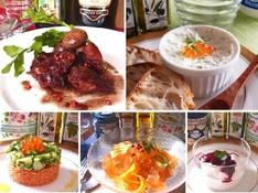 料理レッスン写真 - パーティにお役立ち!華やかなオードブルとチキンの赤ワイン煮込み全6品