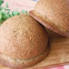 もちっとイングリッシュマフィン&可愛いミルクティーのぼうしパン♡