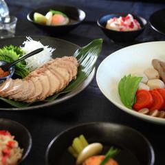 蒸し豚と煮しめがメインのごちそう和食 おせちにもおもてなしにも
