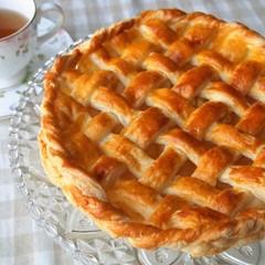 パイ生地を基礎から学ぶ~キャラメルリンゴのアップルパイ&白桃のムース