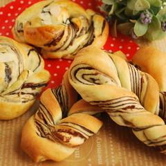 パン屋さんのパンを作ろう★折込みショコラブレッド&人気の定番お惣菜パン