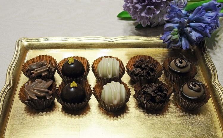 この時期に美味しい5種類のボンボン・ショコラを作っちゃいましょう!
