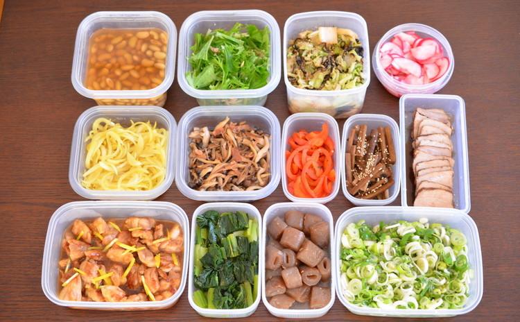 作り置き・常備菜・万能調味料・保存食をマスター!食材使いこなし術☆