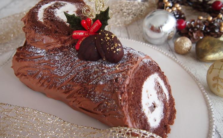 クリスマスレッスン♪ブッシュドノエルとチキンの白ワイン煮込み
