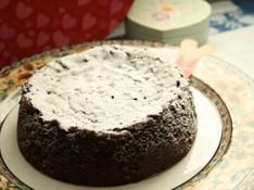 料理レッスン写真 - ガトーショコラクラシックでバレンタイン♡チョコケーキ(15㎝丸1台)