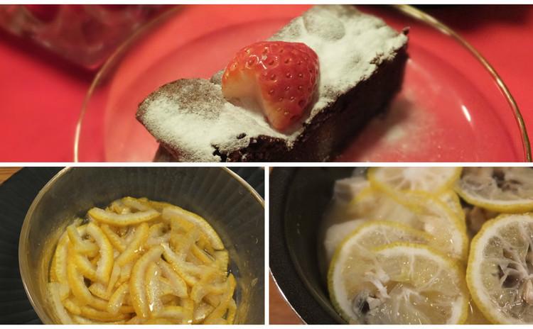 日本の冬の香り「柚子」!バレンタインの濃厚ガトーショコラ&鍋で変身