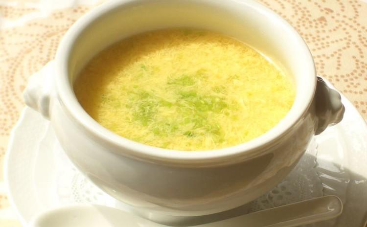 フワフワたまごスープ